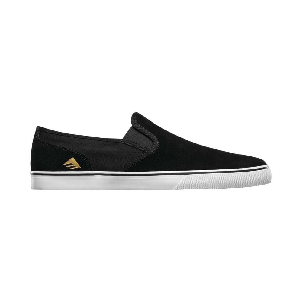 Emerica Mens Provost Cruiser Slip Black White