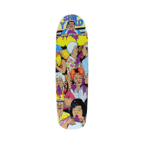 "Shipyard Skateboard Deck Natasha Shape Lard Ass 8.8"" x 32.5""-50-50 Skate Shop"