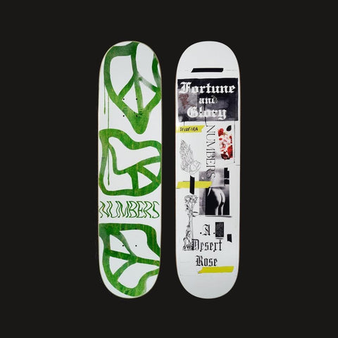 "Numbers Edition Skateboard Deck Teixeira Edition 5 - 8.0"" x 31.4375"" - 50-50 Skate Shop"