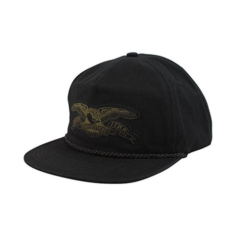 Anti hero Cap Trucker Adjustable Stock Eagle Patch Black - 50-50 Skate Shop