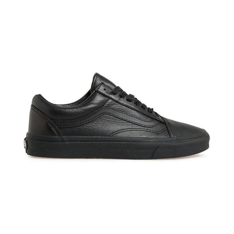 Vans Old Skool Leather Black/Black - 50-50 Skate Shop