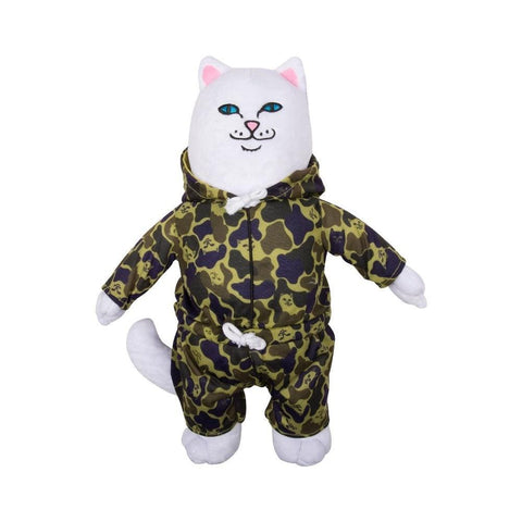 Ripndip Nermal Plush Doll Camo-50-50 Skate Shop