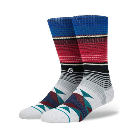 Stance Mens San Blas Socks Teal-50-50 Skate Shop