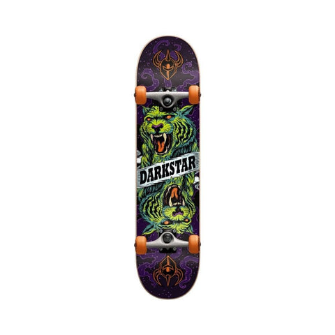 "Darkstar Skateboard Complete Zodiac Youth FP 6.75"" MICRO Orange - 50-50 Skate Shop"