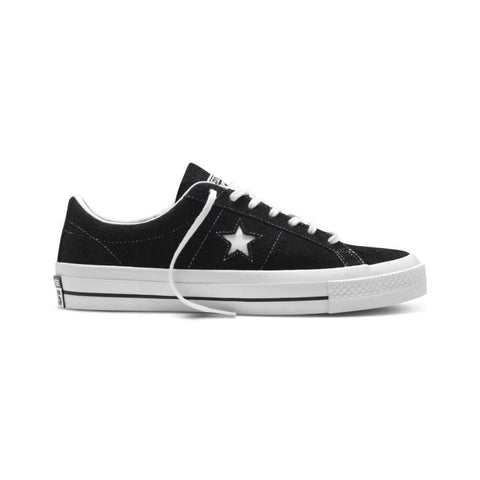 Converse One Star Low Black White