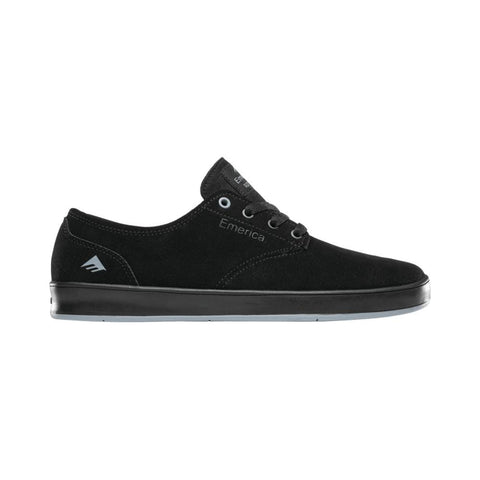 Emerica The Romero Laced Black Black Blue - 50-50 Skate Shop