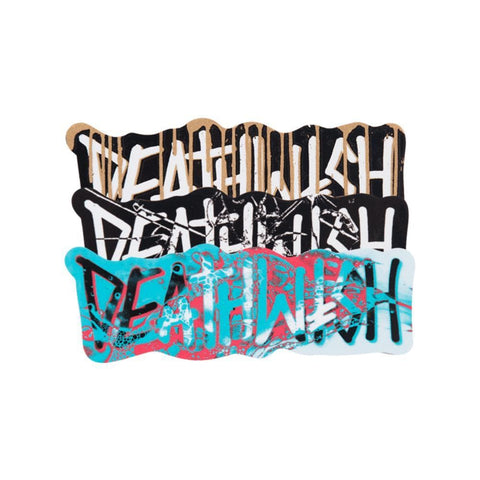 Deathwish Stickers Deathspray HO18 Single Sticker - 50-50 Skate Shop