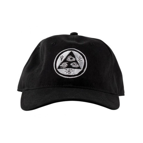 Welcome Cap Talisman Unstructured 6 Panel Slider Black White
