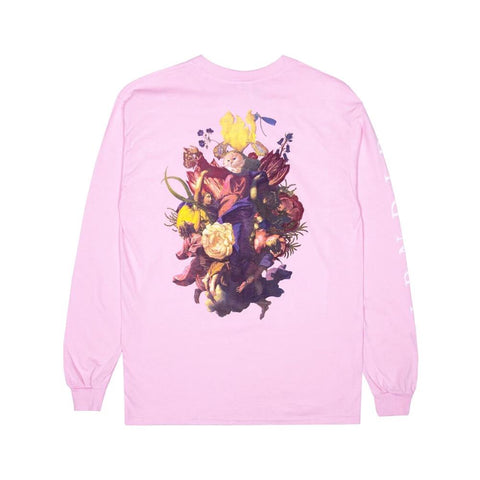 Ripndip Heavenly Bodies Long Sleeve Tee Pink - 50-50 Skate Shop
