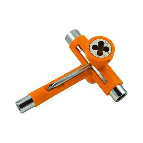 Reflex Utilitool Skateboard T-Tool Orange-50-50 Skate Shop