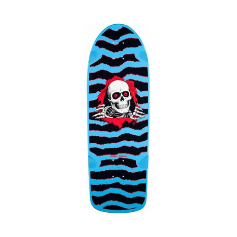 "Powell Peralta OG Ripper 3 Skateboard Skateboard Deck Blue- 10"" x 31"" - 50-50 Skate Shop"