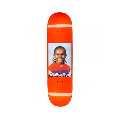 "Fucking Awesome Na-Kel Class Photo Skateboard Deck Dipped Orange 8.25""-50-50 Skate Shop"