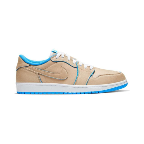 Nike SB Air Jordan 1 Low Desert Ore Royal Blue DK powder Blue-50-50 Skate Shop