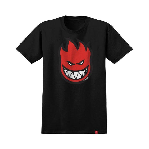 Spitfire Youth Tee Bighead Fill Black Red - 50-50 Skate Shop