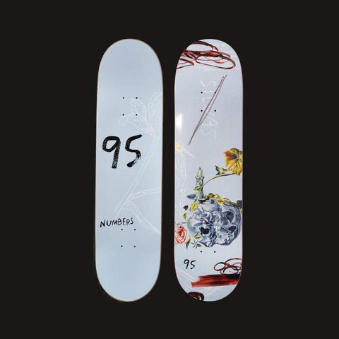 "Numbers Edition Skateboard Deck Silvas Edition 5 - 8.25"" x 31.75"" - 50-50 Skate Shop"