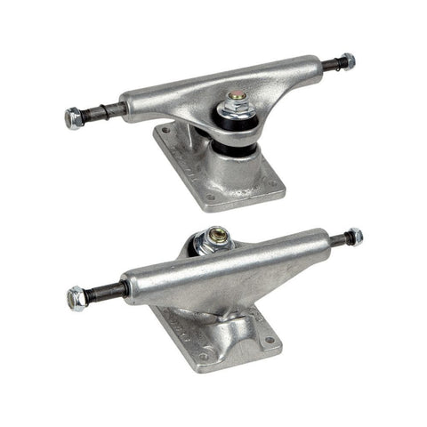 "Tracker Skateboard Trucks 8"" Classic Extrack Silver (1 Pair)-50-50 Skate Shop"