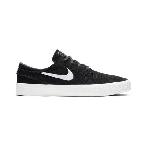Nike SB Zoom Stefan Janoski Remastered Black White Thunder Grey Gum Light Brown-50-50 Skate Shop