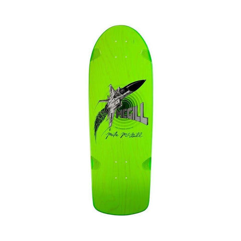"Bones Brigade 7th Series Mike McGill Jet Fighter Green w/DVD 10.28"" x 30.25"" - 50-50 Skate Shop"