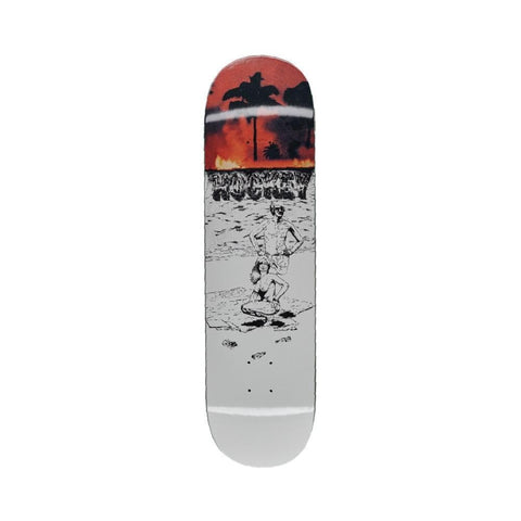 "Hockey AA Beach Deck 8.25""-50-50 Skate Shop"