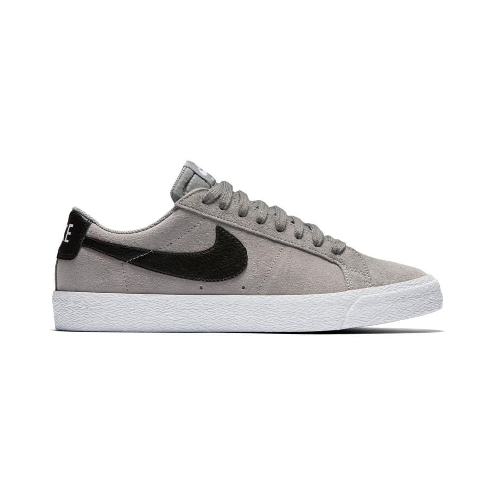 NIKE SB BLAZER ZOOM LOW DUST/BLACK-WHITE-GUM LIGHT BROWN - 50-50 Skate Shop