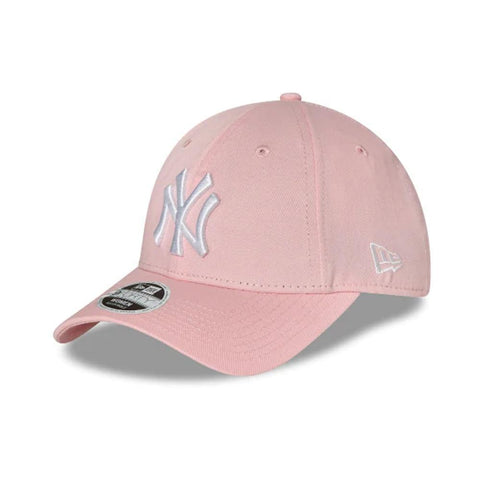 49eff38e744 New Era Womens 9FORTY Cloth Strap New York Yankees Pink - 50-50 Skate Shop