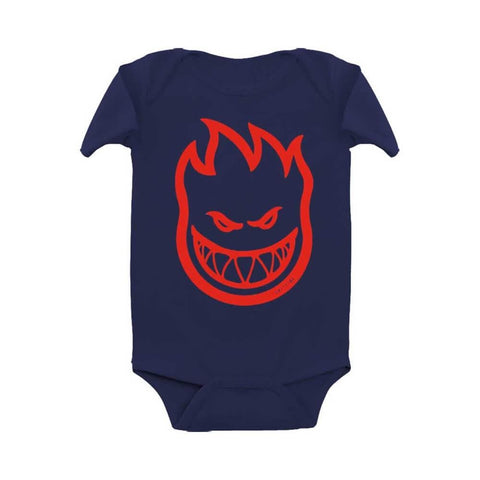 Spitfire Toddler Onesie Bighead Navy Red-50-50 Skate Shop