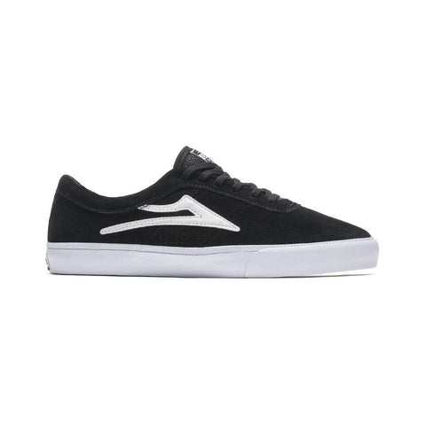 Lakai Sheffield Black Suede-50-50 Skate Shop