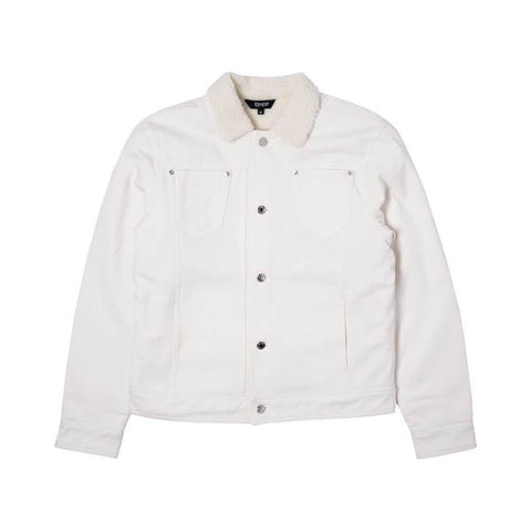 Ripndip Jacket Lit AF Denim White - 50-50 Skate Shop