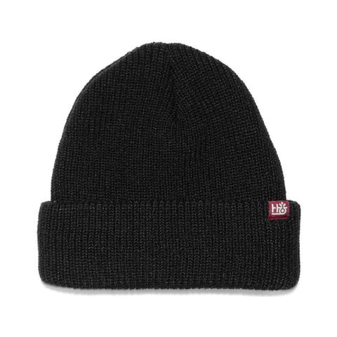 Habitat Field Essentials Beanie Black - 50-50 Skate Shop