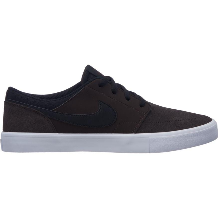 quality design fd2c5 816fe Nike SB Portmore II Solar Velvet Brown Black White-50-50 Skate Shop. Images    1   2   3