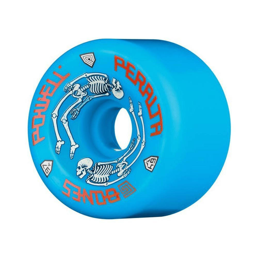 Powell Peralta G-Bones 64mm x 97A - Blue-50-50 Skate Shop