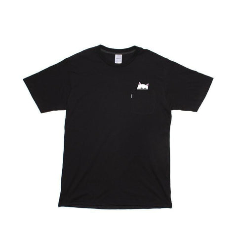 Ripndip Lord Nermal Pocket Tee Black