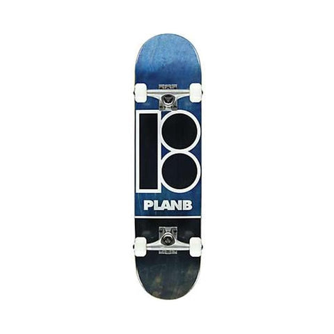 Plan B Skateboards Complete Team Blue Stain 8.25""
