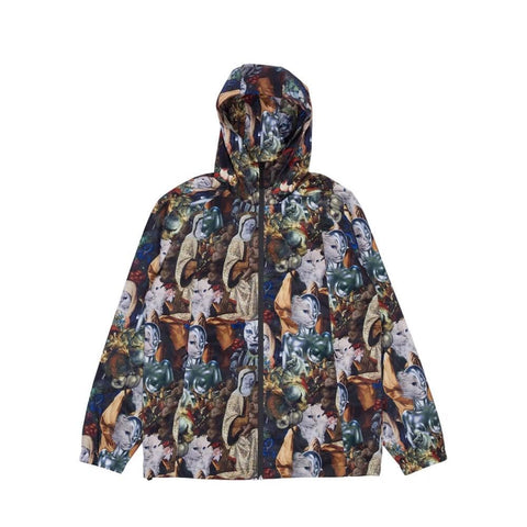 Ripndip Nermaissance Hooded Anorak Jacket Multi-50-50 Skate Shop
