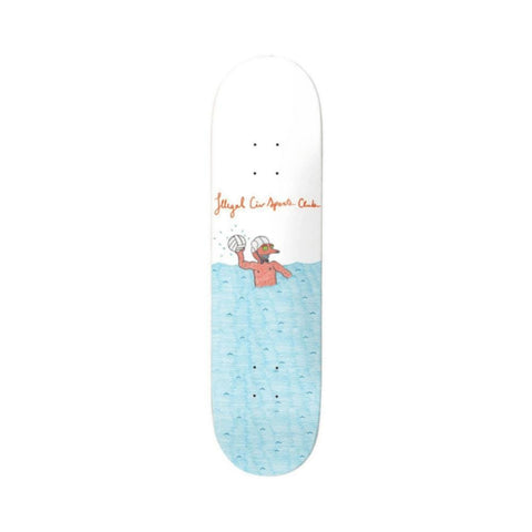 "Illegal Civilization Deck Water Polo 8.25"" x 31.875""-50-50 Skate Shop"
