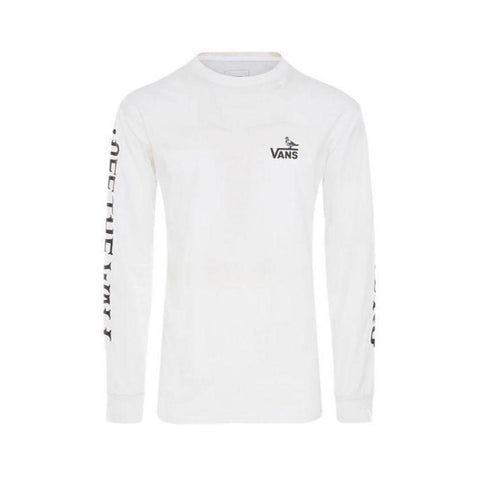 Vans x Anti Hero On The Wire Long Sleeve Shirt White-50-50 Skate Shop