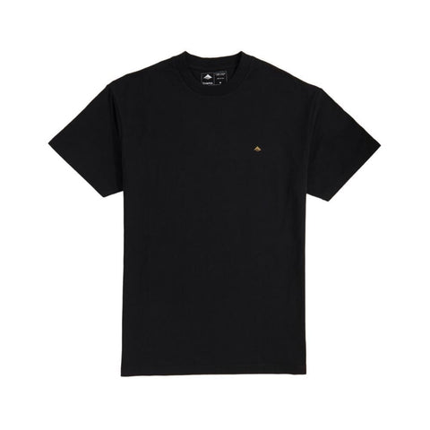 Emerica Mini Icon Short Sleeve Tee Black Gold - 50-50 Skate Shop
