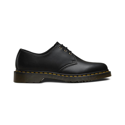 Dr Martens 1461 Vegan 3 Eye Shoe Black Felix Rub Off - 50-50 Skate Shop