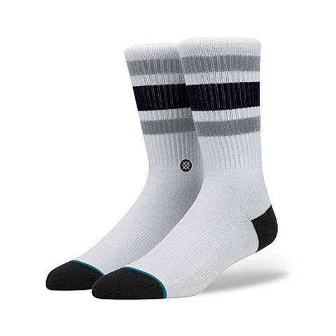 Stance Mens Boyd 4 Socks White-50-50 Skate Shop