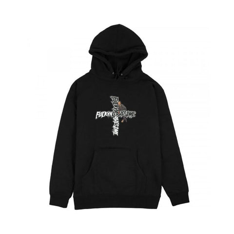 Fucking Awesome Hobo Hoodie Black-50-50 Skate Shop