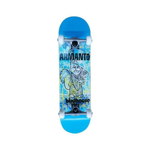 "Birdhouse Skateboard Complete Level 1 Lizzie Armanto Show 8.0"" x 31.3"" Blue - 50-50 Skate Shop"