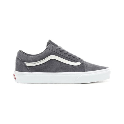 Vans Old Skool (Soft Suede) Ebony True White - 50-50 Skate Shop