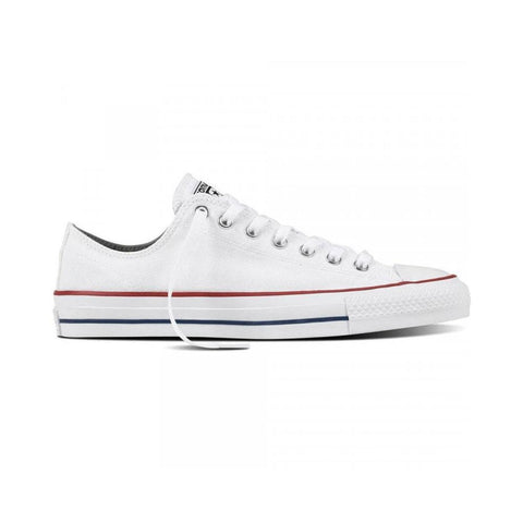 Converse CTAS Pro Canvas OX White Red Insignia-50-50 Skate Shop