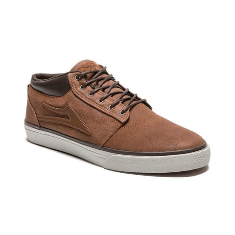 Lakai Griffin Mid Brown Suede-50-50 Skate Shop