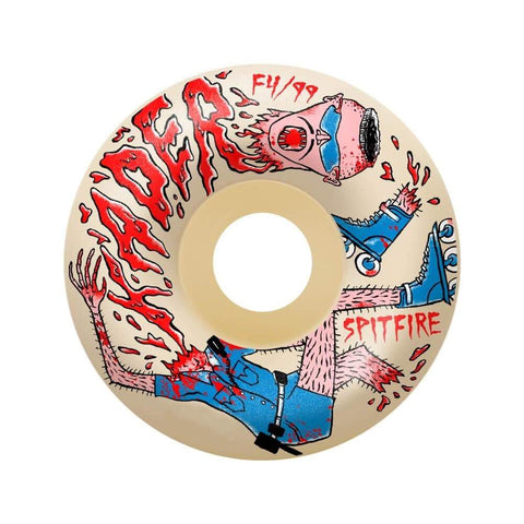 Spitfire Wheels F4 99D Neckface Kader 54mm-50-50 Skate Shop