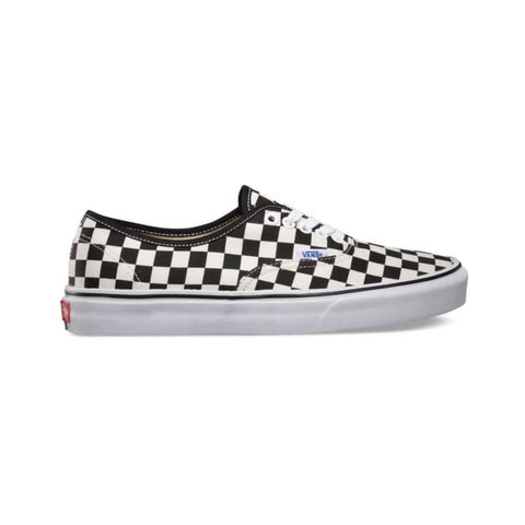 Vans Authentic (Golden Coast) Black White Checker-50-50 Skate Shop
