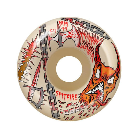 Spitfire Wheels F4 99D Neckface Rowan 55mm-50-50 Skate Shop