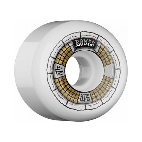 Bones Skateboard Wheels SPF Deathbox 58mm 81B White Gold - 50-50 Skate Shop