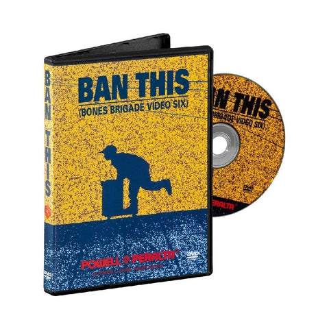 Powell Peralta DVD Ban This - 50-50 Skate Shop
