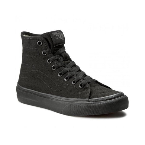 Vans Sk8 Hi Decon (Canvas) Black Black-50-50 Skate Shop